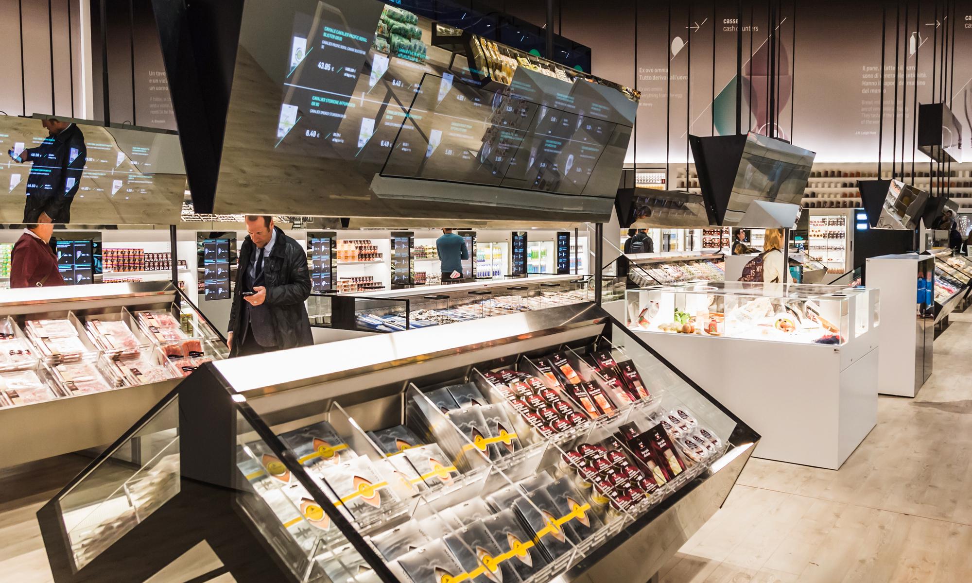 Futuristic Supermarket